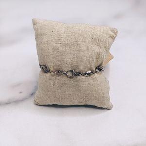 Sterling silver 925 stirrup equestrian bracelet